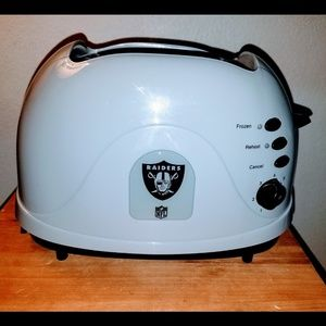 Raiders toaster